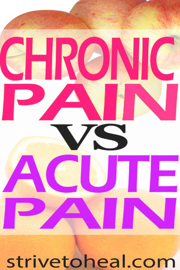 Chronic pain vs acute pain has very significant differences that result in chronic pain being much more complex and as a result, more difficult to treat. Understanding the changes that happen when you experience long term pain, can help you find more effective treatments.
