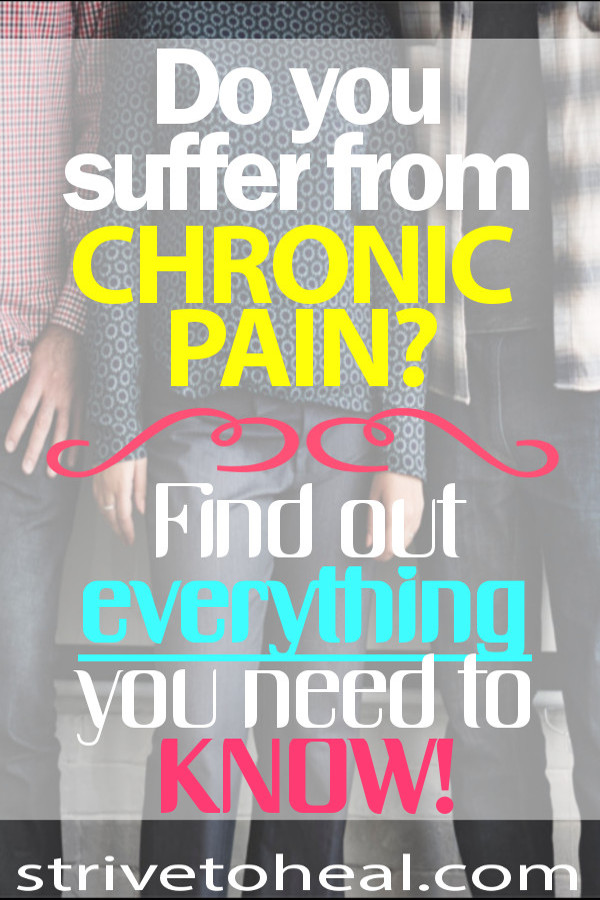 Do you suffer from chronic pain or chronic pain syndrome? Find out everything you need to know about the pain your fibromyalgia, arthritis, lyme disease, myofascial pain syndrome, sacroiliac dysfunction or any other pain condition causes.