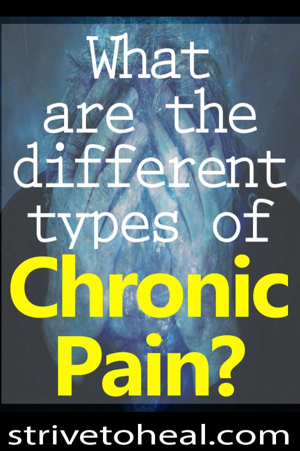 What are the different types of chronic pain? What body parts are affected? What does musculoskeletal or somatic, inner organ or visceral, nerve or neuropathic pain feel like?