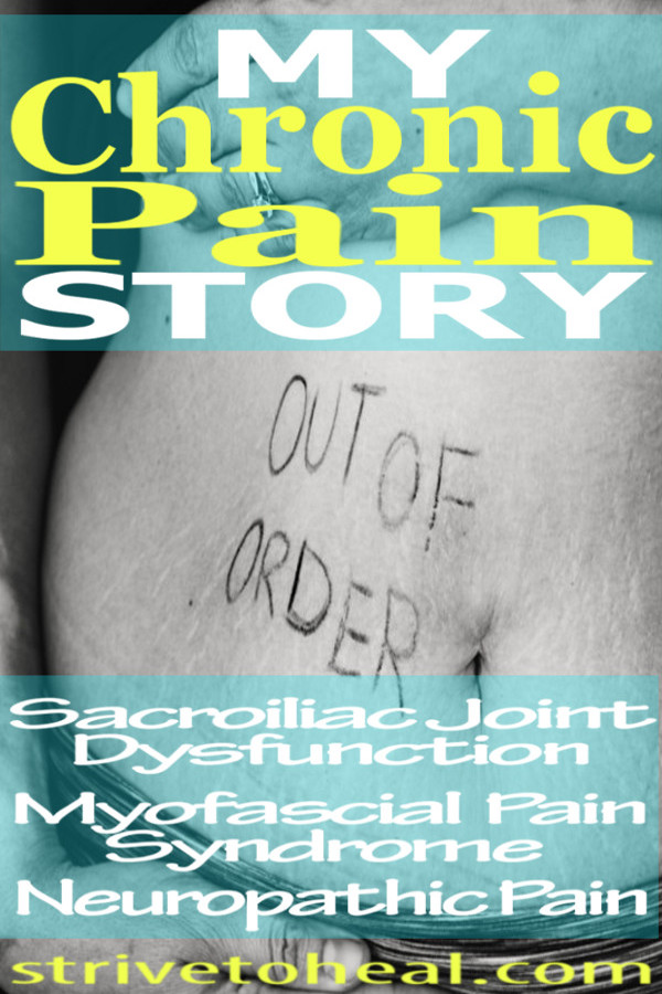 Chronic pain bloggers are a great source of hope and empowerment to others living with chronic pain. Check out the chronic illness blogger behind StriveToHeal.com to learn a bit about her story.