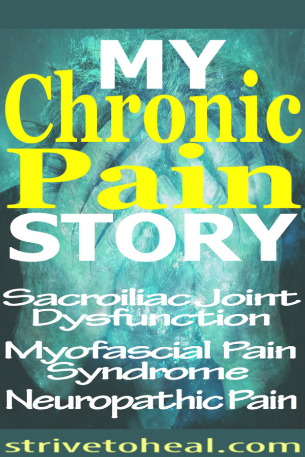 Chronic illness blogger documents her struggle with chronic pain syndrome, SIJD, myofascial pain syndrome, nerve pain and depression. She also shares her experience of parenting with chronic pain and chronic illness.