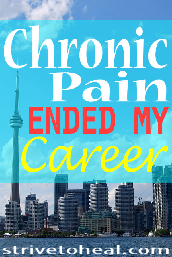 When I first started dealing with my chronic pain, it never crossed my mind that one day chronic pain would cost me my career.. But it has happened. Find understanding, motivation, inspiration & support if you are also living with chronic pain.