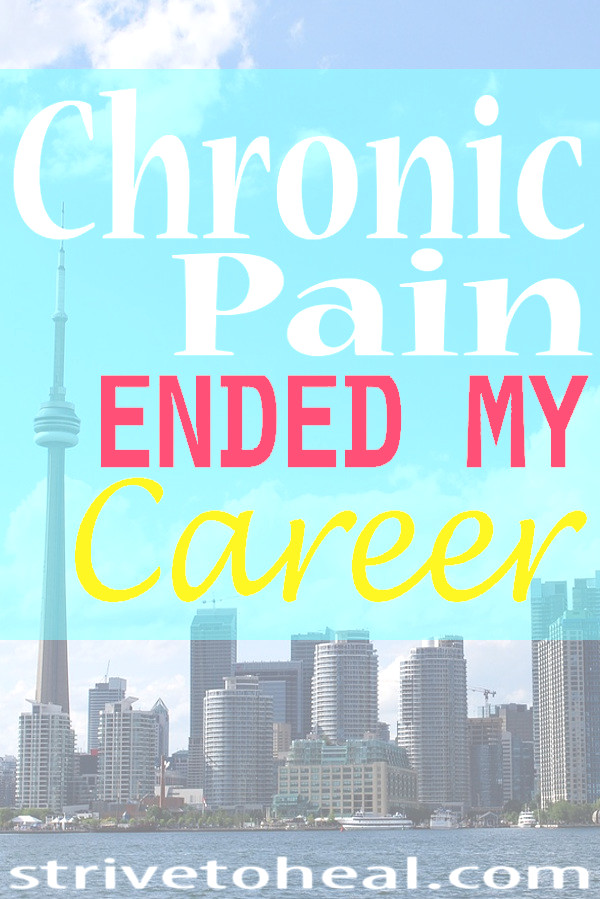 I had a promising career in the genetics field before I experienced severe low back pain during pregnancy. After my second child was born my body never fully recovered. My return to work after maternity leave ended in complete disaster with my pain troubles spiraling out of control. I am now living with chronic pain syndrome, neuropathic or nerve pain, myofascial pain syndrome, SIJ or SI or pelvic girdle dysfunction. Eventually I lost my job & career to chronic pain.